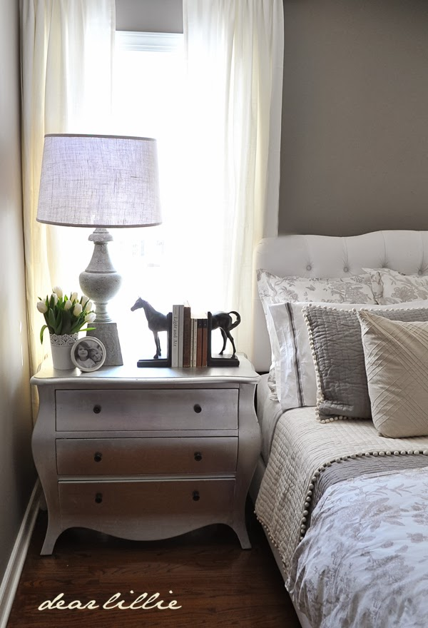 our gray guest bedroom and a full source list dear lillie studio