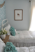 Paint Color Whispering Spring By Benjamin Moore Beds Annalise Metal Bed From Josain I Think They Are Curly Sold Of The Twin Size There