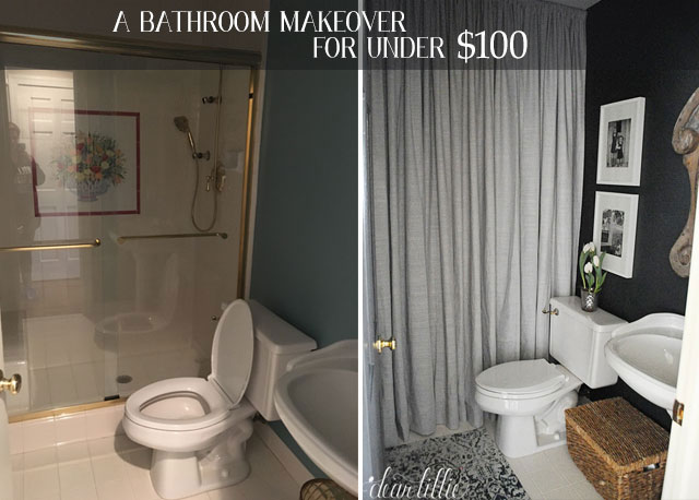 Our Mini Bathroom Makeover Dear Lillie Studio - Mini bathroom makeover
