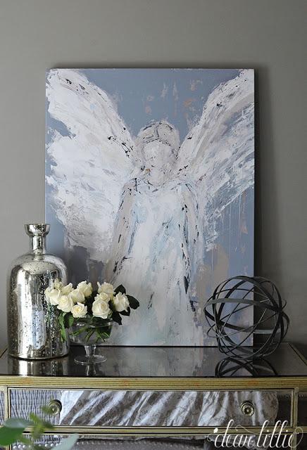 Deann S Angel Paintings Are Back Dear Lillie Studio