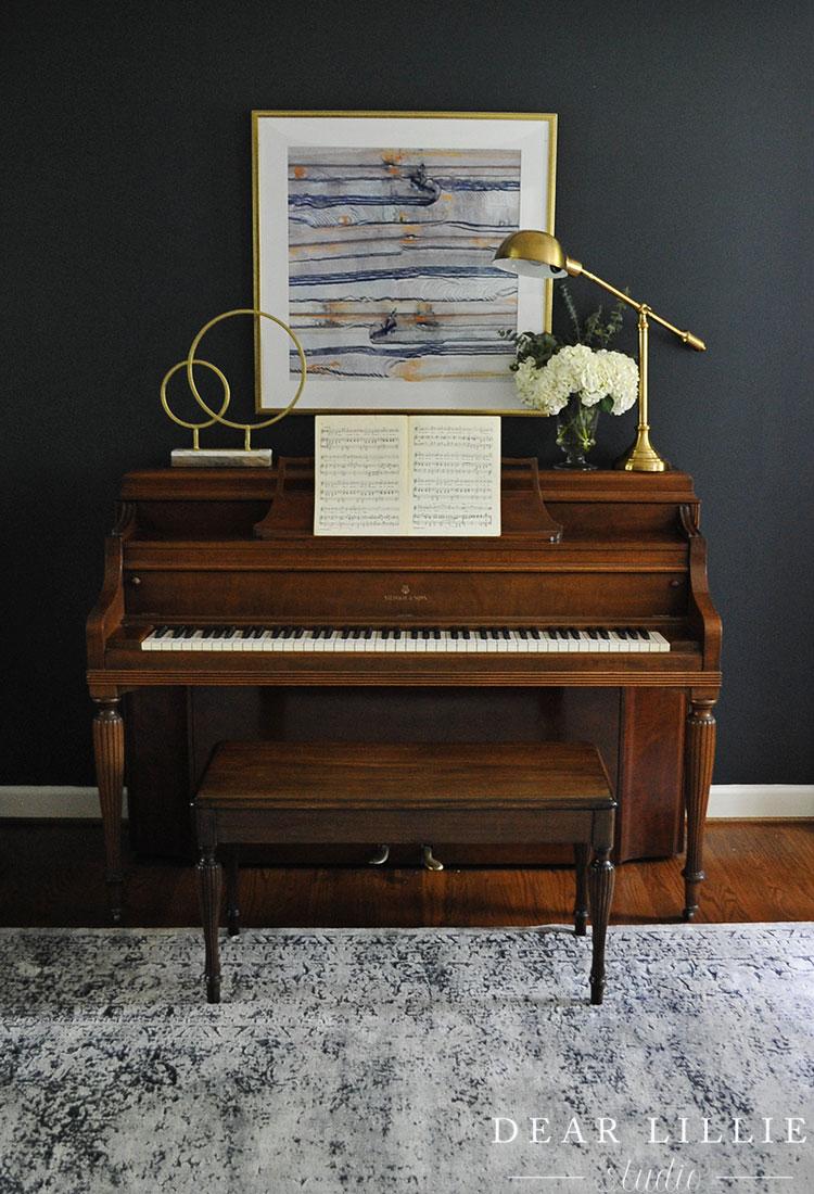 Piano Living Room