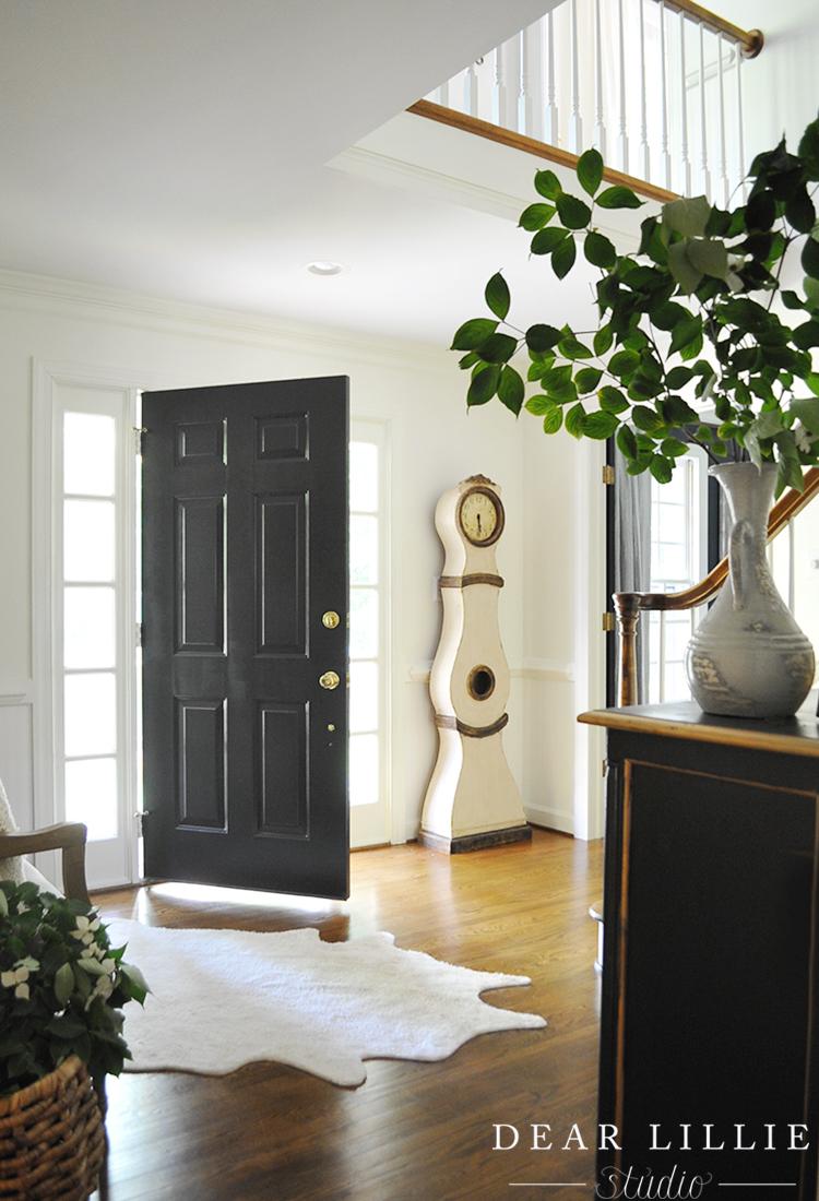 our entryway dear lillie bloglovin. Black Bedroom Furniture Sets. Home Design Ideas