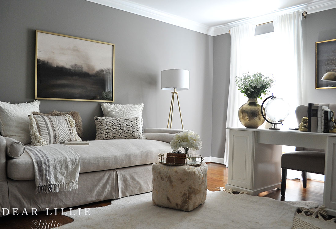 Some Updates To Our Office Guest Room Adding A Daybed Dear Lillie Studio